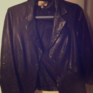 Elizabeth and James leather black jacket.